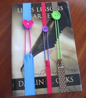 My Busy Beehives Button Bookmarks